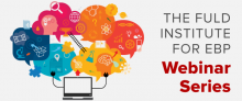 Fuld Webinar Series Banner with speech bubbles full of graphical ideas